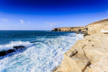 Beach in Fuerteventura, Canary Islands, Spain
