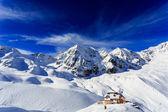 Winter mountains, Rifugio Citta di Milano ( Schaubachhutte)