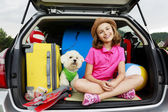 Summer holiday, Travel - family ready for the travel for vacation