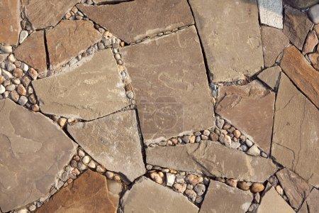 Photo pour Mosaïque de pierres - image libre de droit