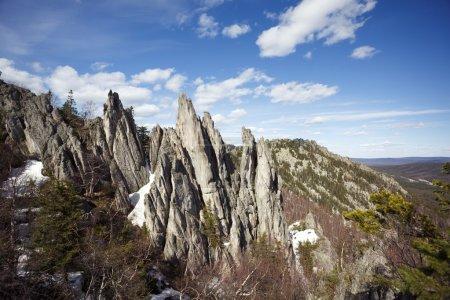 Photo pour Le sommet de la montagne - image libre de droit