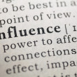 Dictionary definition of the word influence, Fake ...