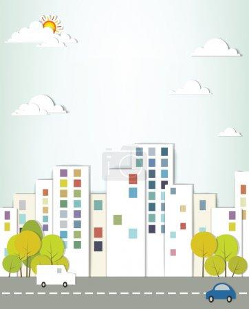 Urban landscape.