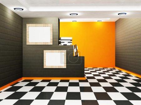 Scène de design intérieur