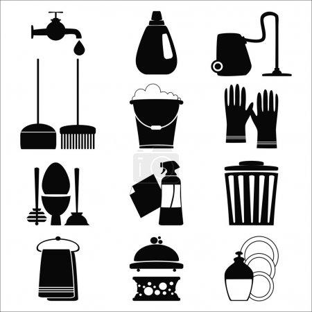 Cleening icons