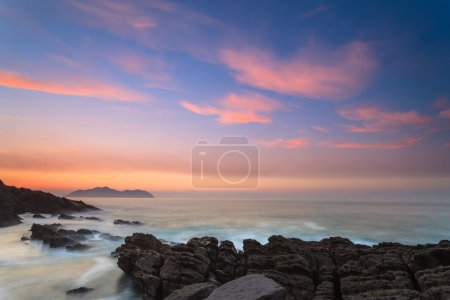 Amazing seascape sunset