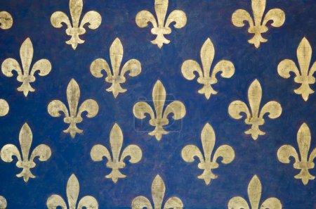 Fleur de lis wallpaper