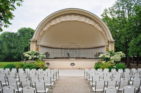 banda shell anfiteatro al aire libre