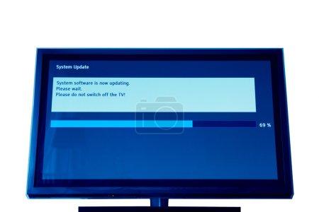 Modern televison update process