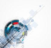 """Постер, картина, фотообои """"абстрактный футуристический Интернет высокий бизнес компьютерной технологии b"""""""
