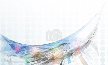 Photo for Concept for New Technology Corporate Business & development background - Royalty Free Image
