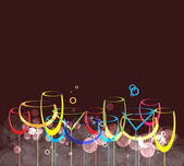 Wine card background alcohol drink glass1