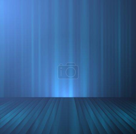Illustration pour Scène vide. Illustration vectorielle . - image libre de droit