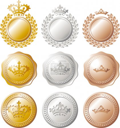 Ranking medal set