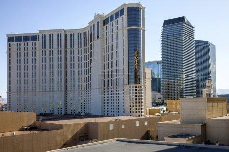 toits et l'architecture de casino las vegas