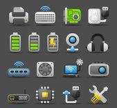 Computer Gadgets icon set