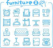 Hand drawn furniture icon