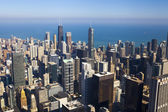 Chicago Downtown (Aerial View)