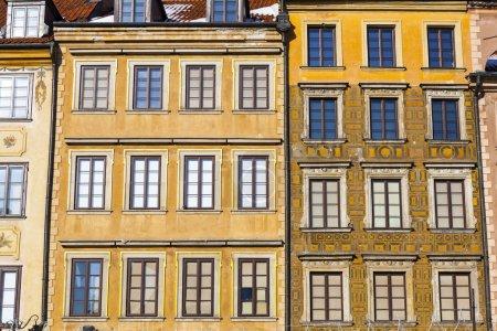 Photo pour Architecture à Varsovie Vieille ville, Pologne - image libre de droit