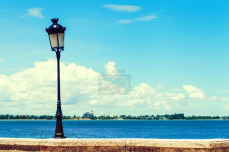 Photo for Old Lamp in San Juan, Puerto Rico - Royalty Free Image