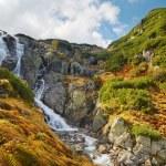 The Great Siklawa Waterfall (70 m high) on Roztoka...