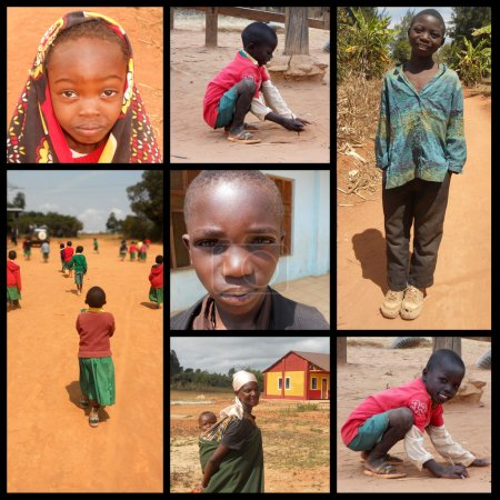 Smile for Africa - Moments of everyday life of African children