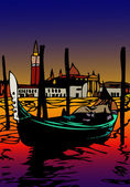 Gondola in San Marco