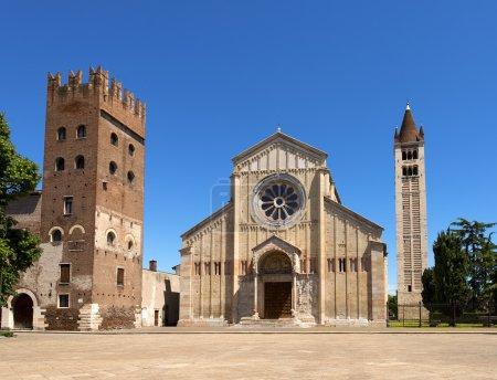 Basilica of San Zeno Verona - Italy
