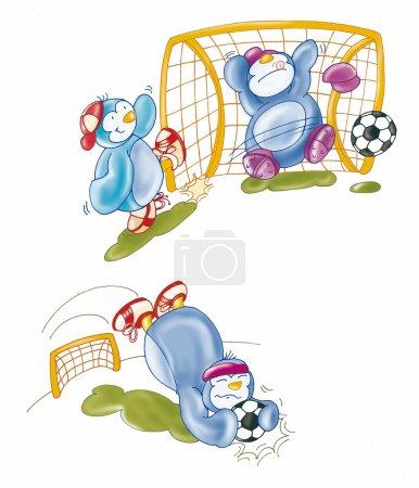 Photo pour Illustration, digital,, children, dragon,top, animal, strip, comic, funny, sweet, male, female mascot, - image libre de droit