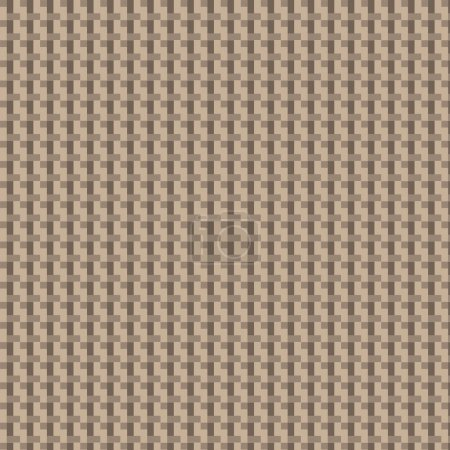 Seamless texture with square element