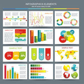 Detail infographic vector illustration World Map and Information Graphics