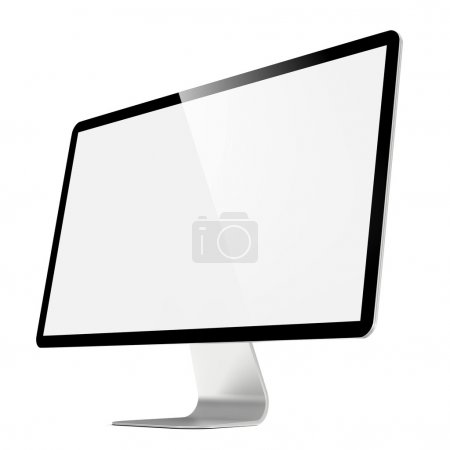 Modern 4k Widescreen Lcd Monitor.