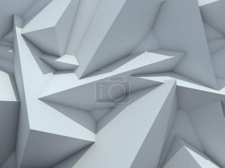 Photo pour Contexte cristallisé. Résumé Contexte futuriste . - image libre de droit