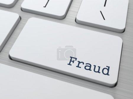 Fraud Concept.