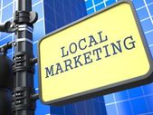 Business Concept. Local Marketing Waymark.