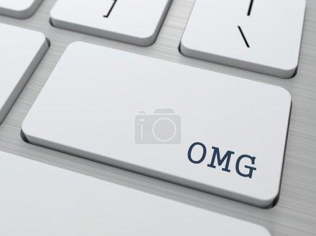 OMG. Internet Concept.
