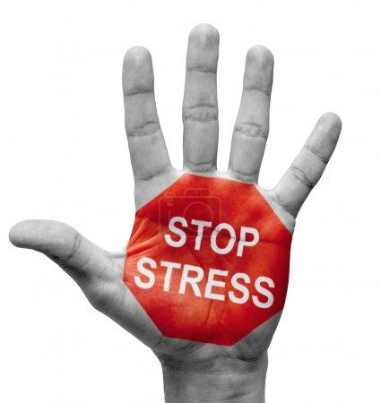 Stop Stress Concept.