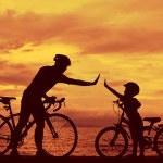 Постер, плакат: Biker family