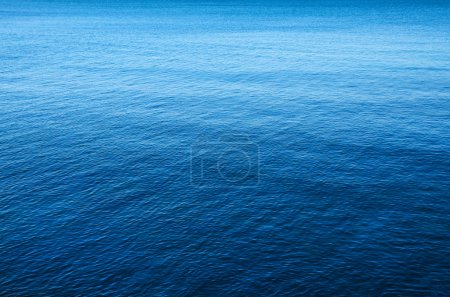 Photo for Background image of a calm and peaceful blue sea - Royalty Free Image