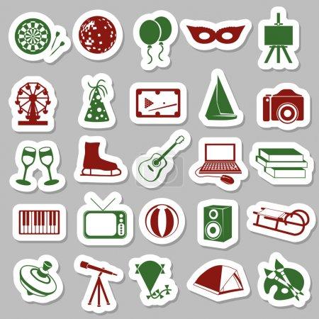 Entertainment stickers