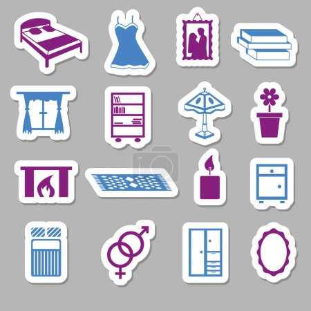 Bedroom stickers