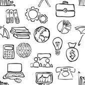 Vzor bezešvé ekonomika náčrtek