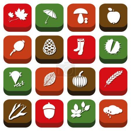 Autumn icons...