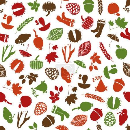 Autumn seamless pattern...