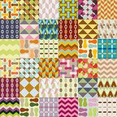 36 retro seamless patterns