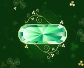 Emerald banner