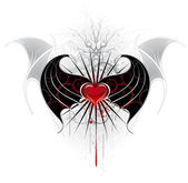 red heart of a vampire