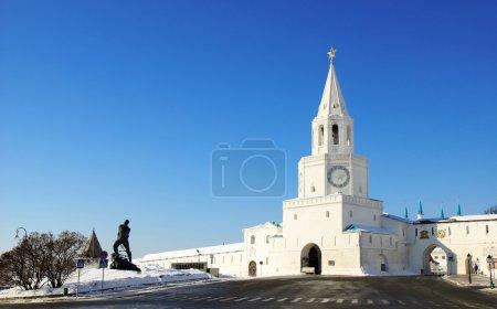 Spasskaya (Saviour) Tower of Kazan Kremlin