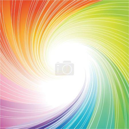 Illustration pour La couleur de fond abstrait tourbillonné - image libre de droit