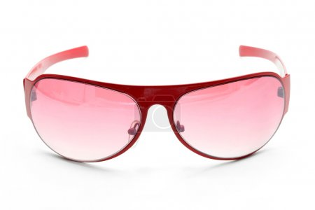fashion red sunglasses